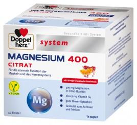 Doppelherz aktiv, system magnezij 400 citrat, 40 vrečk
