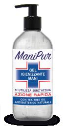 Manipur čistilni gel za roke, 500 ml