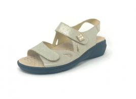 Ženski usnjen sandal Sanis 72044SD