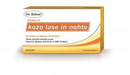 Dr. Böhm, tablete za kožo, lase in nohte, 60 tablet