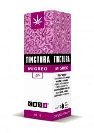 CBDex, tinktura migero 5 %, 10 ml