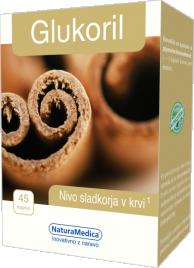 NaturaMedica, glukoril, 45 kapsul
