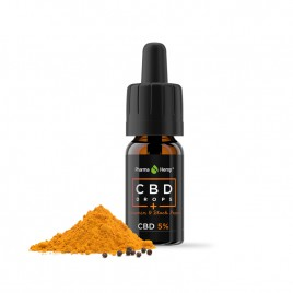Pharmahemp, CBD kapljice s kurkuminom 5 %, 10 ml
