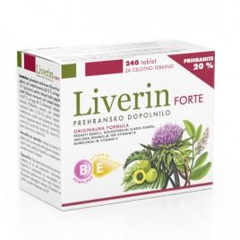 Pharmalife Research, liverin forte ugodno pakiranje, 240 tablet
