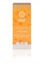 Rastlinska barva za lase Svetlo blond Khadi, 100 g