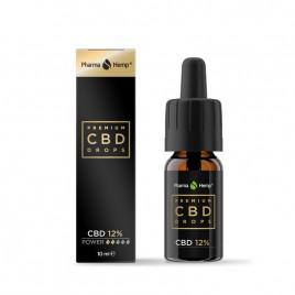 Pharmahemp, premium CBD kapljice 12%, 10 ml