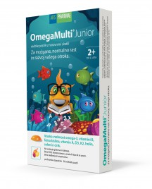 Omega Multi Junior, 30 mehkih pastil