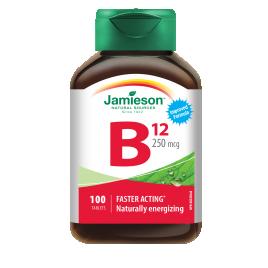 Jamieson, vitamin B12 250 μg, 100 tablet