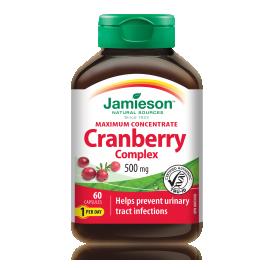 Jamieson, brusnica in D - manoza, 60 kapsul