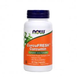 CurcuFRESH, kurkumin, 500 mg, 60 kapsul