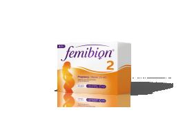 Femibion 2, od 13. tedna do rojstva, 28 tablet + 28 kapsul