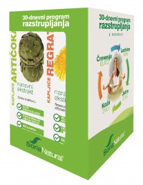 Soria Natural, paket za 30 dnevno razstrupljanje