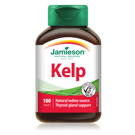 Jamieson kelp 650mcg tbl 100x