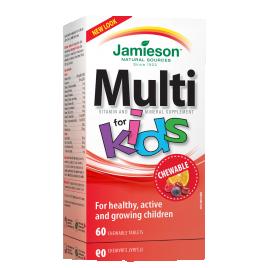 Jamieson multi for kids bonbon 60x