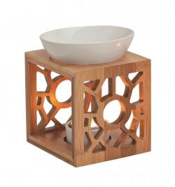 Izparilnik za eterična olja bambus - keramika