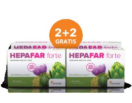 Sensilab, hepafar forte, paket 2+2 gratis, 120 kapsul
