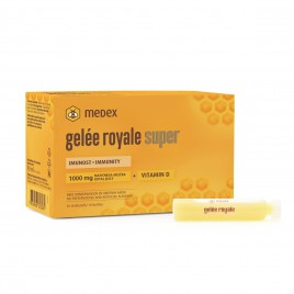 Medex, gelée royale super, stekleničke 10 x 9 ml