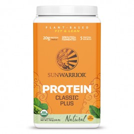 Proteini Sunwarrior Classic Plus Natural 750g