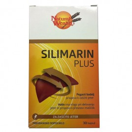 Natural Wealth, silimarin plus, 30 kapsul ( 2 x 15 ) v blistrih