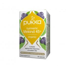 Pukka, življensko ravnovesje s kurkumo, 30 kapsul