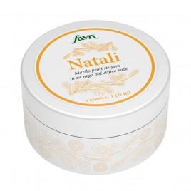 Natali, mazilo proti strijam in za nego občutljive kože, Favn, 150 ml