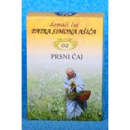 Čajna mešanica PRSNI ČAJ patra Simona Ašiča (02), 50 g