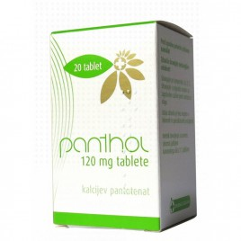 Panthol 120 mg tablete, 20 tablet