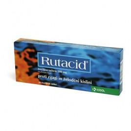 Rutacid 500 mg žvečljive tablete, 20 tablet