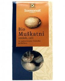 Bio začimba Muškatni orešek celi Sonnentor, 25 g