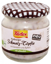 Bio zaseka s čebulo in jabolki Tartex, 150 g