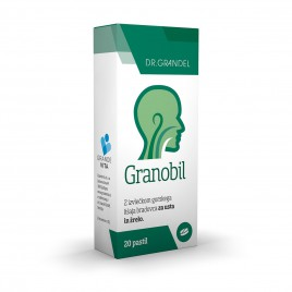Dr. Grandel, prehransko dopolnilo granobil, 20 pastil