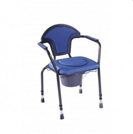 Toaletni stol z nastavljivimi nogami Herdegen - moder