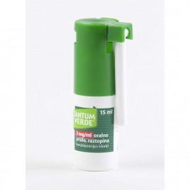 Tantum Verde 3 mg/ml oralno pršilo, raztopina, 15 ml