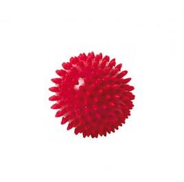 Masažna žogica Knobbed Togu 9 cm rdeča