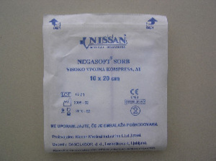 Negasoft obloga za rane sterilna Nissan 20 cm x 30 cm