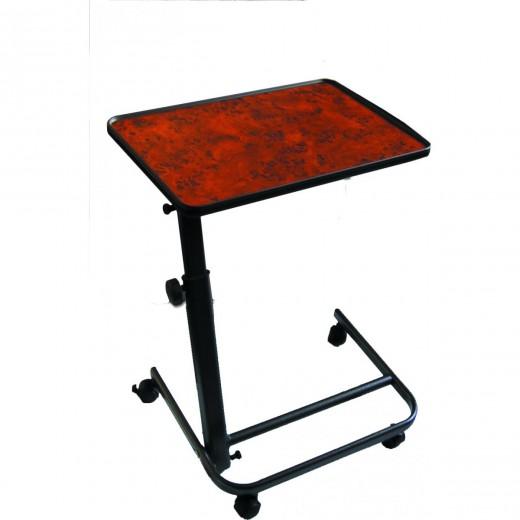 Obposteljna mizica 40x60 cm Herdegen - oreh