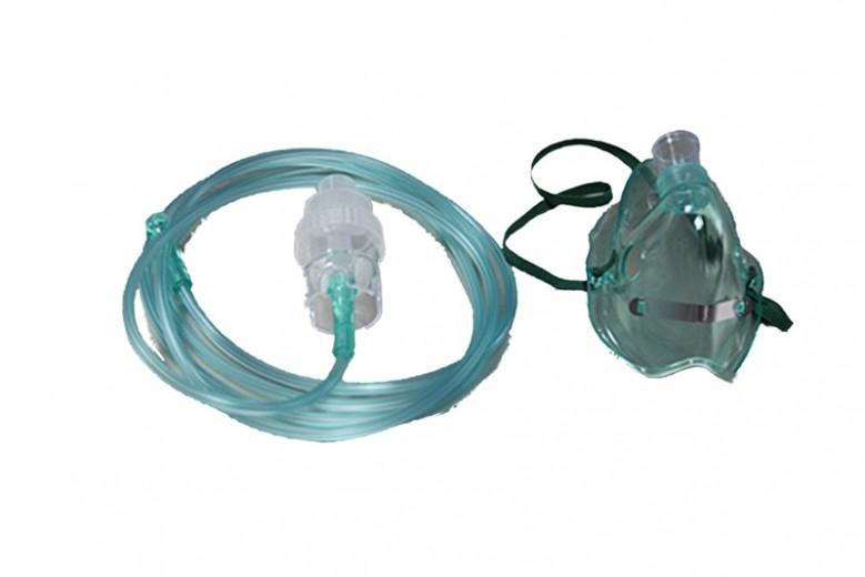 Maska za inhalacije z razpršilcem za odrasle
