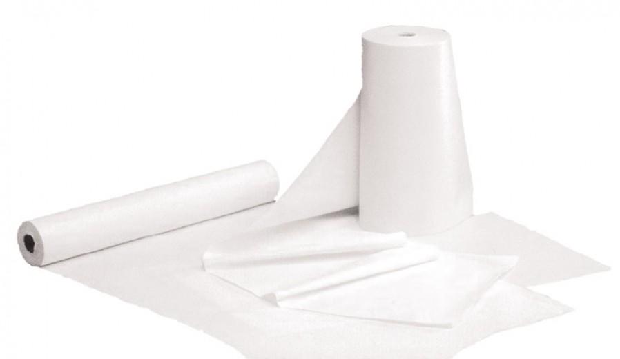 Papir rola za pregledno mizo 59 cm x 50 m perforirana