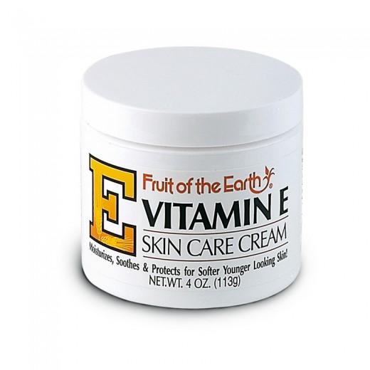 Krema z vitaminom E, Fruit of the Earth, 113 g