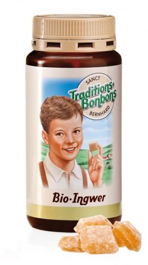 Bio ingverjevi bonboni Sanct Bernhard, 170 g