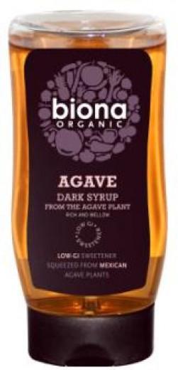 Bio temni agavin sirup Biona, 250 ml
