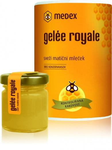 Gelée royale Medex, sveži matični mleček 30 g