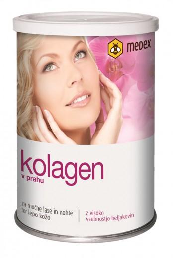 Medex, kolagen v prahu z vitaminom C, 150 g
