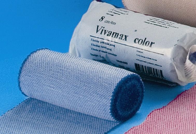 Povoj 6 cm x 4 m Vivamax color, roza