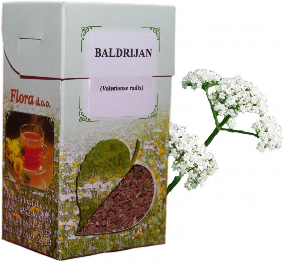 Čaj Baldrijan korenina, 100 g