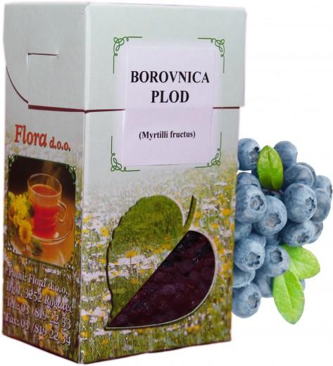 Čaj Borovnica plod, 80 g