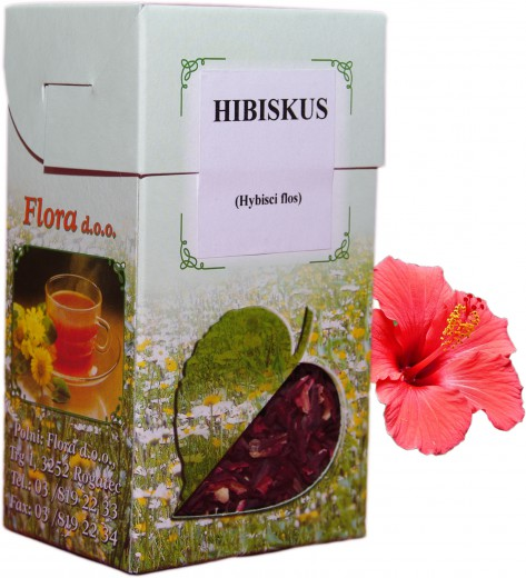 Čaj Hibiskus cvet, 80 g