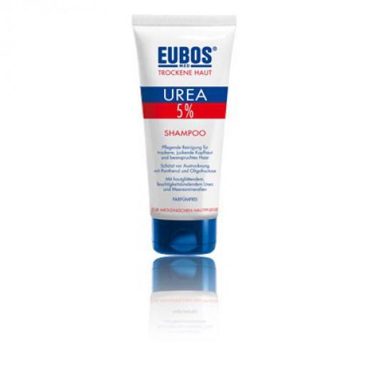5 % UREA šampon za suhe lase in pri srbečem lasišču Eubos, 200 ml