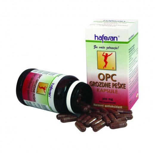 Hafesan, OPC, grozdne peške, 60 kapsul