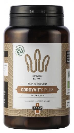 Goba®, Cordyvit®K, 140 kapsul